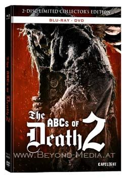 ABCs of Death 2, The (Lim. Uncut Collectors Edition) (DVD + BLURAY)