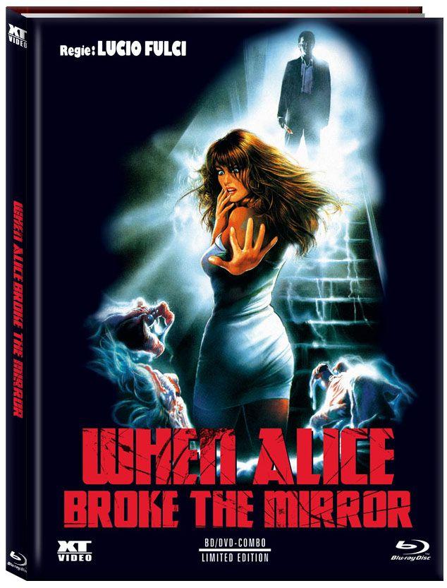 When Alice Broke the Mirror (Lim. Uncut Mediabook - Cover A) (DVD + BLURAY)