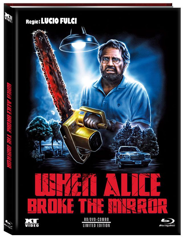 When Alice Broke the Mirror (Lim. Uncut Mediabook - Cover B) (DVD + BLURAY)