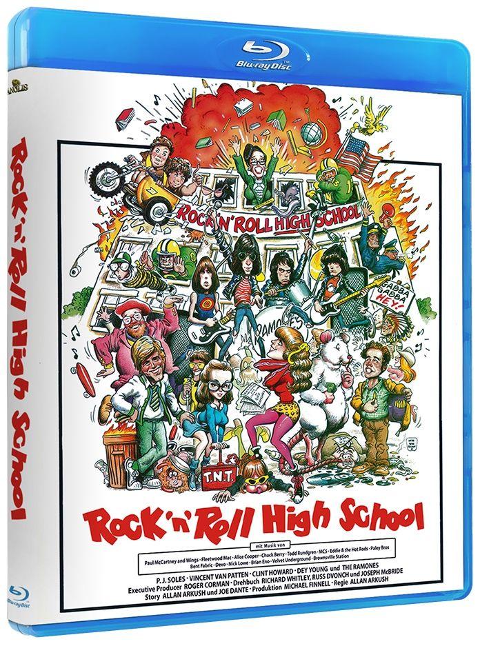 Rock 'n' Roll High School (BLURAY)