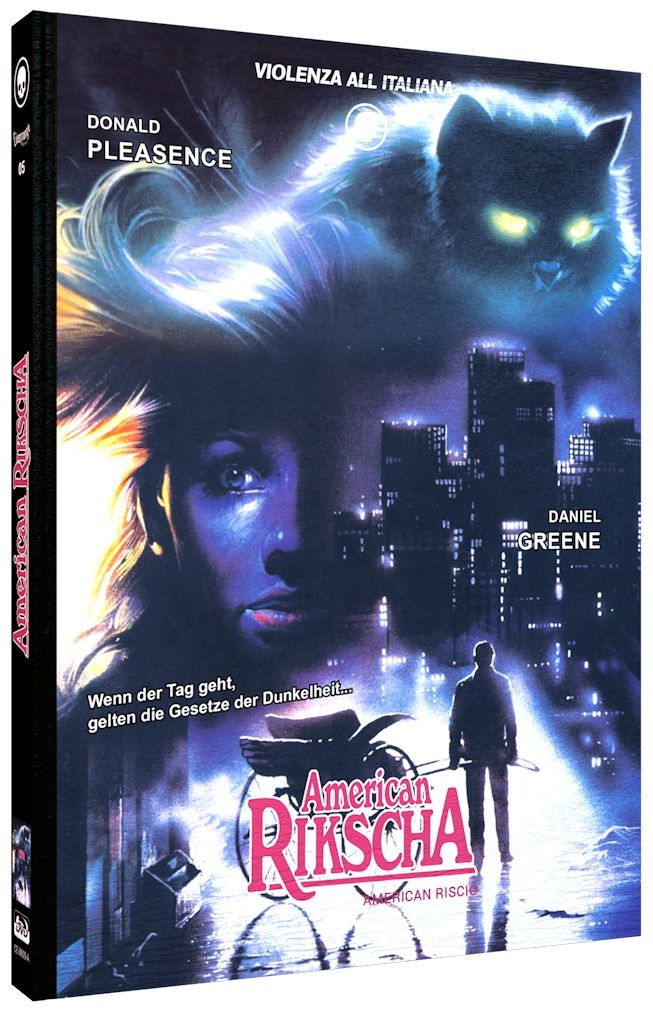 American Rikscha (Lim. Uncut Mediabook - Cover A) (DVD + BLURAY)