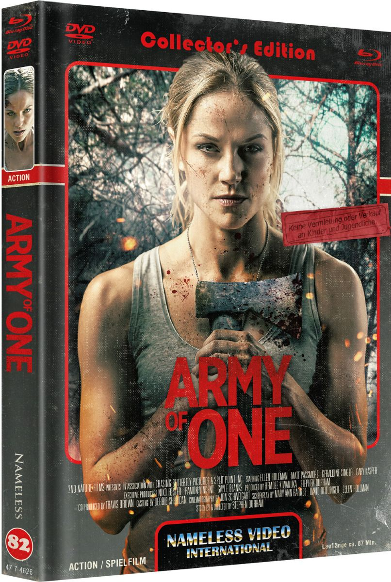 Army of One (Lim. Uncut Mediabook - Cover C) (DVD + BLURAY)