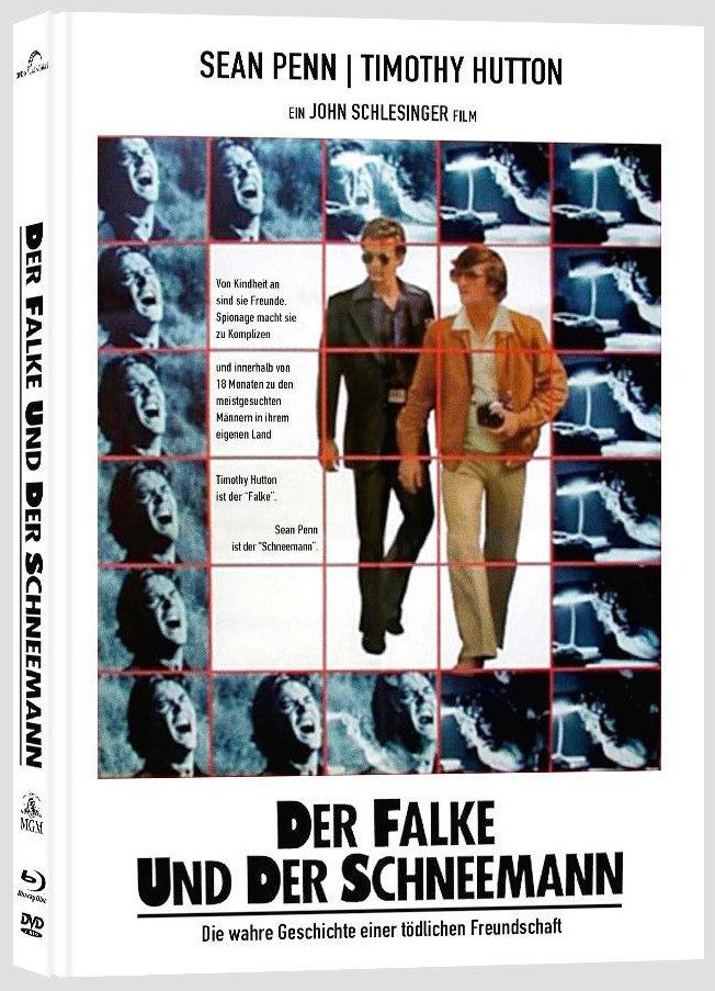 Falke und der Schneemann, Der (Lim. Uncut Mediabook - Cover B) (DVD + BLURAY)