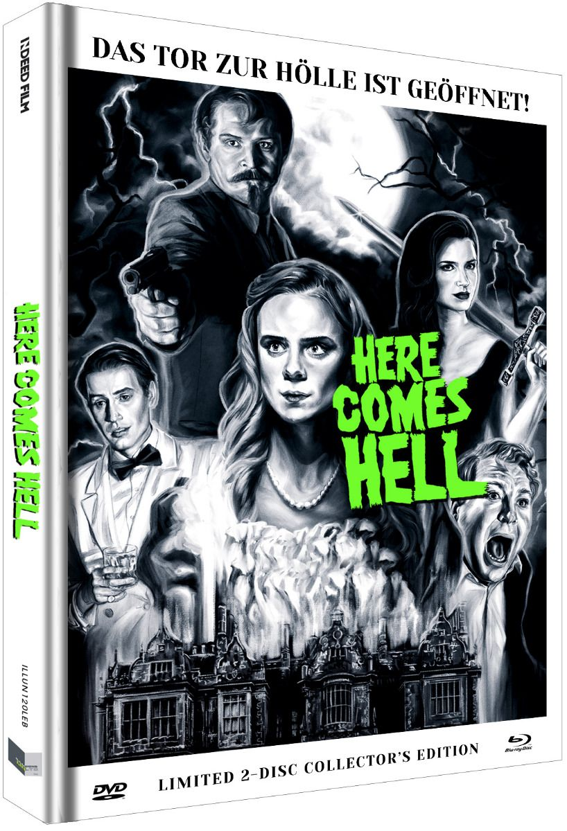 Here Comes Hell (Lim. Uncut Mediabook - Cover B) (DVD + BLURAY)