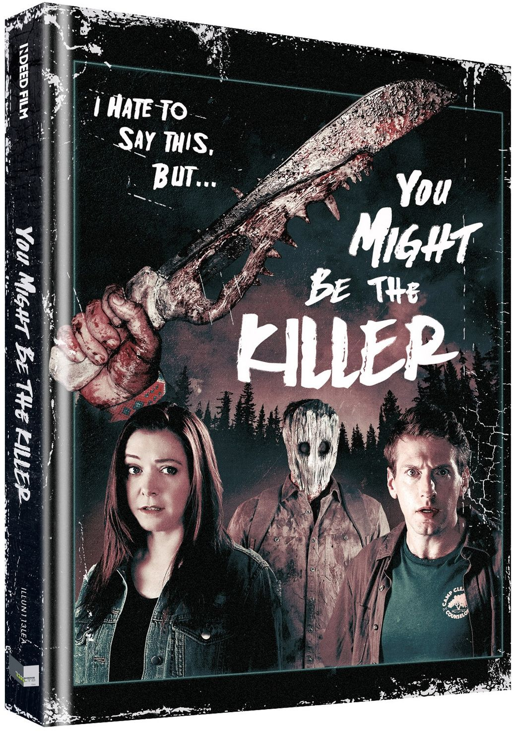 You Might Be the Killer (Lim. Uncut Mediabook - Cover B) (DVD + BLURAY)