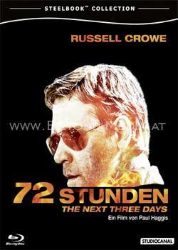 72 Stunden - The Next Three Days (Steelbook Edition) (BLURAY)