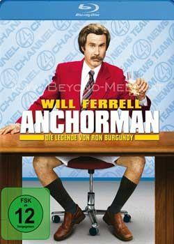 Anchorman - Die Legende von Ron Burgundy (BLURAY)
