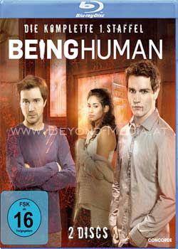 Being Human - Die komplette erste Staffel (2011) (4 Discs) (BLURAY)