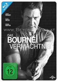 Bourne Vermächtnis, Das (Lim. Steelbook) (BLURAY)