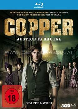 Copper: Justice Is Brutal - Staffel Zwei (3 Discs) (BLURAY)