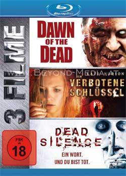 Dawn of the Dead (2004) / Der verbotene Schlüssel / Dead Silence (3 Discs) (BLURAY)
