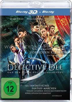 Detective Dee und der Fluch des Seeungeheuers (BLURAY + BLURAY 3D)