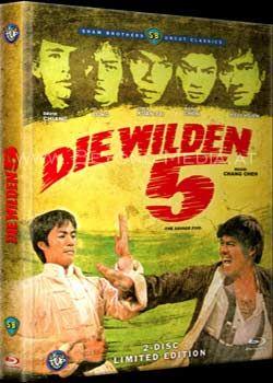 Wilden 5, Die (Lim. Mediabook) (DVD + BLURAY)