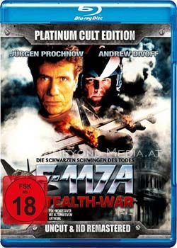 F-117A - Stealth-War (Uncut) (Platinum Cult Ed.) (BLURAY)