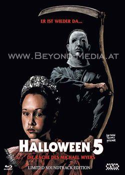 Halloween 5 (Lim. Soundtrack Edition) (BD Hartbox) (Cover B) (BLURAY)
