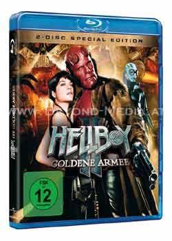 Hellboy 2: Die goldene Armee (BLURAY)