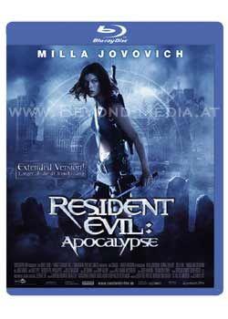 Resident Evil: Apocalypse (Extended Version) (BLURAY)