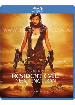 Resident Evil: Extinction (BLURAY)