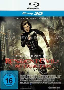 Resident Evil: Retribution 3D (BLURAY 3D)