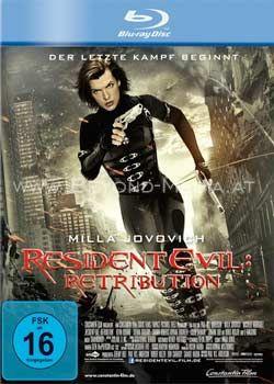 Resident Evil: Retribution (BLURAY)