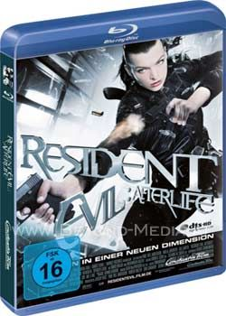 Resident Evil: Afterlife (BLURAY)