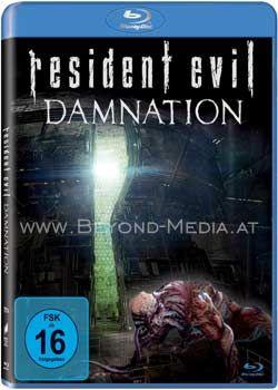 Resident Evil: Damnation (BLURAY)