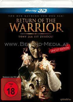 Return of the Warrior 3D (Uncut) (BLURAY 3D)