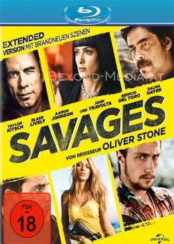 Savages (2012) (Extended Version) (BLURAY)