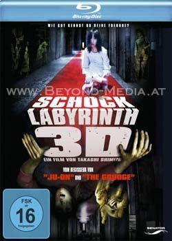 Schock Labyrinth 3D (BLURAY)