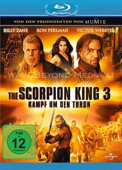 Scorpion King 3, The - Kampf um den Thron (BLURAY)
