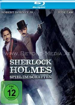 Sherlock Holmes - Spiel im Schatten (BLURAY)