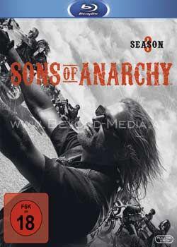 Sons of Anarchy - Die komplette Staffel 3 (3 Discs) (BLURAY)