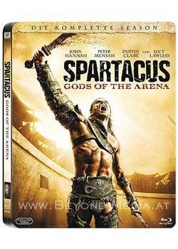 Spartacus: Gods of the Arena (Uncut) (Steelbook) (3 Discs) (BLURAY)