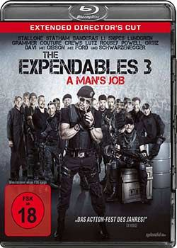 Expendables 3, The - A Mans Job (Extended Directors Cut) (BLURAY)
