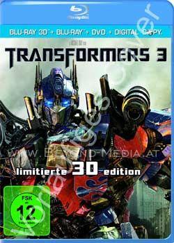 Transformers 3 3D (BLURAY 3D)