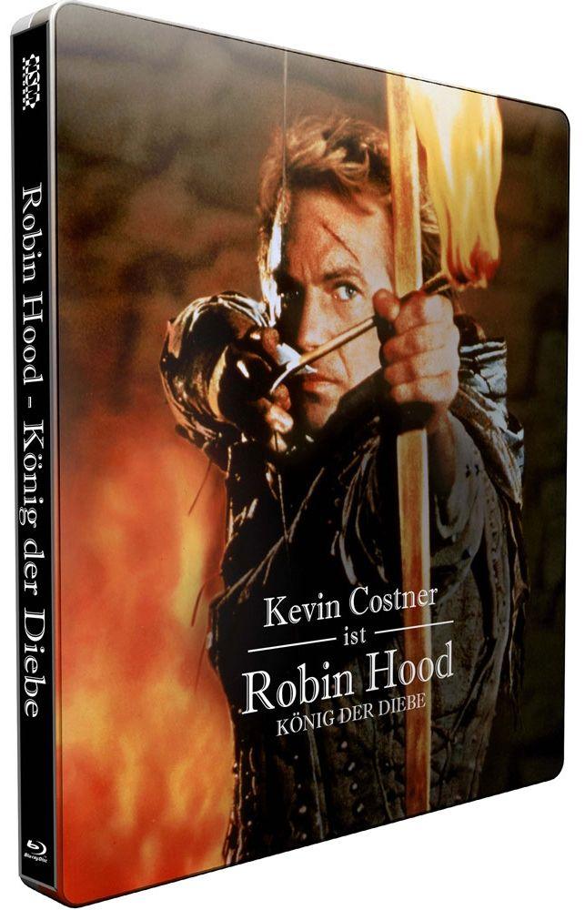 Robin Hood - König der Diebe (Lim. Uncut Steelbook) (2 Discs) (BLURAY)