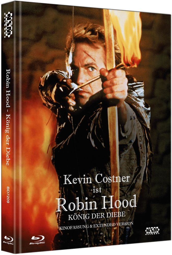 Robin Hood - König der Diebe (Lim. Uncut Mediabook) (2 Discs) (BLURAY)
