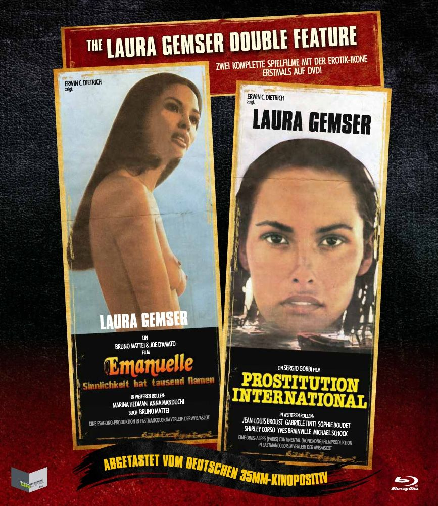 Laura Gemser Double Feature, The (Uncut) (BLURAY)
