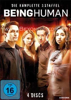 Being Human - Die komplette dritte Staffel (2011) (4 Discs)