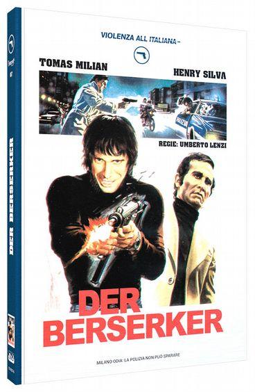 Berserker, Der (Lim. Uncut Mediabook - Cover A) (DVD + BLURAY)