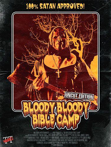 Bloody Bloody Bible Camp (Lim. Uncut Mediabook - Cover B) (DVD + BLURAY)