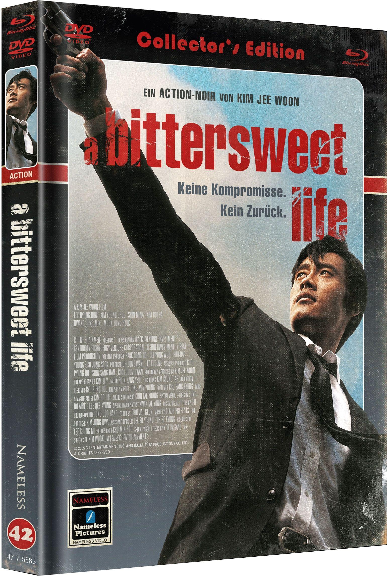 Bittersweet Life (Lim. Uncut Mediabook - Cover B) (DVD + BLURAY)