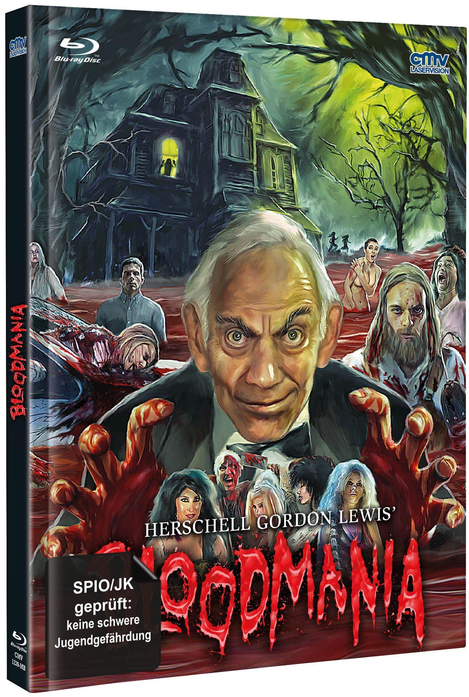 Herschell Gordon Lewis' BloodMania (Lim. Uncut Mediabook - Cover A) (Neuauflage) (DVD + BLURAY)