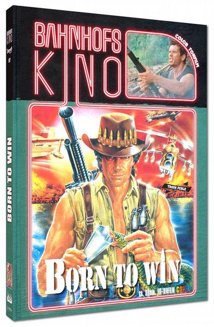 Born to Win - In der Hölle des Dschungels (Lim. Uncut Mediabook - Cover A) (DVD + BLURAY)