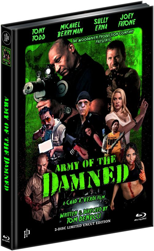 Army of the Damned - Willkommen in der Hölle (Lim. Uncut Mediabook - Cover A) (DVD + BLURAY)