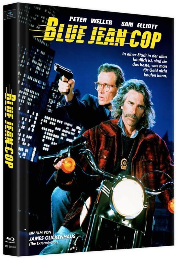 Blue Jean Cop (Lim. Uncut Mediabook - Cover B) (2 Discs) (BLURAY)