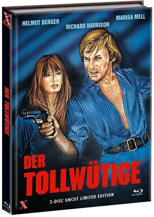 Tollwütige, Der (Lim. Uncut Mediabook - Cover A) (DVD + BLURAY)