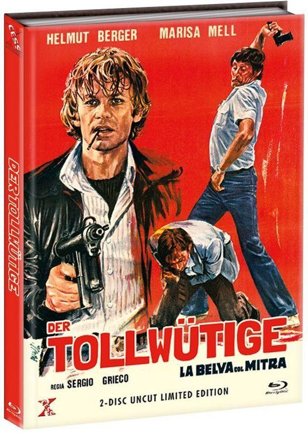 Tollwütige, Der (Lim. Uncut Mediabook - Cover B) (DVD + BLURAY)