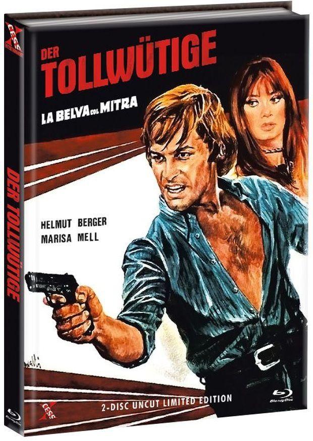 Tollwütige, Der (Lim. Uncut Mediabook - Cover C) (DVD + BLURAY)