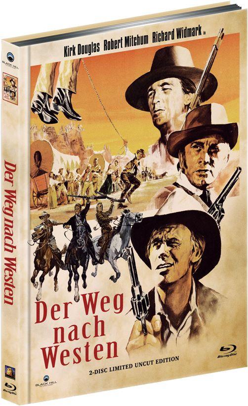 Weg nach Westen, Der (Lim. Uncut Mediabook - Cover A) (DVD + BLURAY)